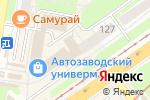 Схема проезда до компании ВизусОптика в Нижнем Новгороде