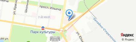 Центр мобильного сервиса на карте Нижнего Новгорода