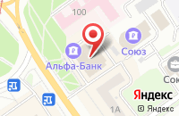 Схема проезда до компании Sport Life в Узюково