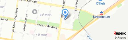Делконт-НН на карте Нижнего Новгорода
