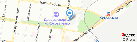Абразив на карте Нижнего Новгорода