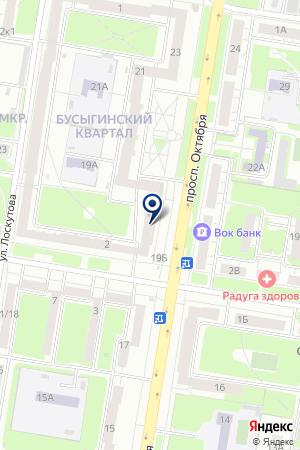 ОХРАННОЕ ПРЕДПРИЯТИЕ БЕЗОПАСНОСТЬ на карте Нижнего Новгорода