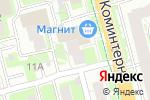 Схема проезда до компании Магнит Косметик в Нижнем Новгороде