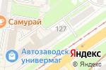 Схема проезда до компании БИНБАНК кредитные карты в Нижнем Новгороде