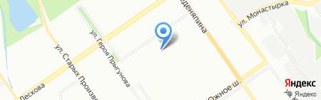 Средняя общеобразовательная школа №15 на карте Нижнего Новгорода