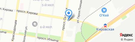 Ёршъ на карте Нижнего Новгорода