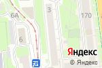 Схема проезда до компании Вип в Нижнем Новгороде
