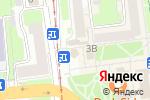 Схема проезда до компании Магазин цветов на ул. Ефремова в Нижнем Новгороде