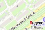 Схема проезда до компании ЭнергоПростор в Нижнем Новгороде