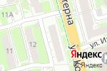 Схема проезда до компании Призма в Нижнем Новгороде