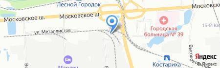 Лейпуриен Тукку на карте Нижнего Новгорода