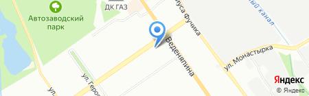 Ключ к здоровью на карте Нижнего Новгорода