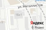 Схема проезда до компании Атриум-Строй в Нижнем Новгороде