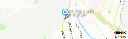 Z-Avto на карте Нижнего Новгорода