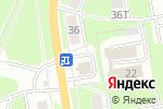 Схема проезда до компании Чайка в Нижнем Новгороде