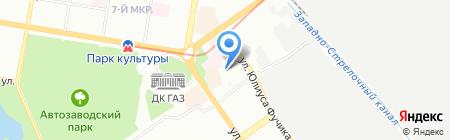 Ингосстрах-М на карте Нижнего Новгорода