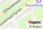 Схема проезда до компании Krasty Burger в Нижнем Новгороде