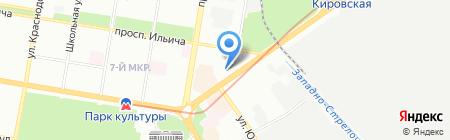 Банкомат Внешпромбанк на карте Нижнего Новгорода