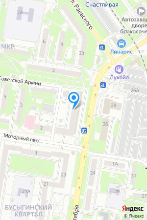 Дом 25 по просп. Октября на Яндекс.Картах