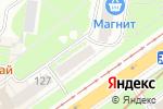 Схема проезда до компании СДЭК в Нижнем Новгороде
