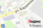 Схема проезда до компании Красное Сормово в Нижнем Новгороде