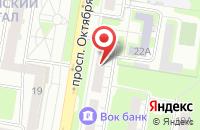 Схема проезда до компании Полный Контроль в Нижнем Новгороде
