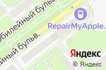 Схема проезда до компании Нива в Нижнем Новгороде