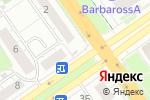 Схема проезда до компании Брэд в Нижнем Новгороде