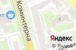 Схема проезда до компании Магелан в Нижнем Новгороде