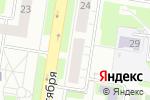 Схема проезда до компании Луч в Нижнем Новгороде
