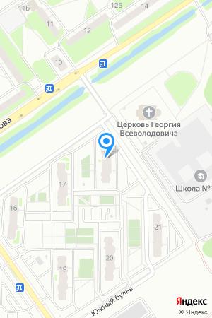 Микрорайон ЮГ, Южный бул., 18 на Яндекс.Картах
