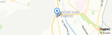 Провiантъ на карте Нижнего Новгорода