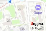 Схема проезда до компании Надежда в Нижнем Новгороде