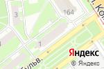 Схема проезда до компании Магазин канцелярских товаров на Юбилейном бульваре в Нижнем Новгороде