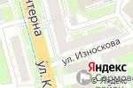 Схема проезда до компании Luven Diagnostic в Нижнем Новгороде