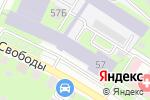 Схема проезда до компании Travels-If в Нижнем Новгороде