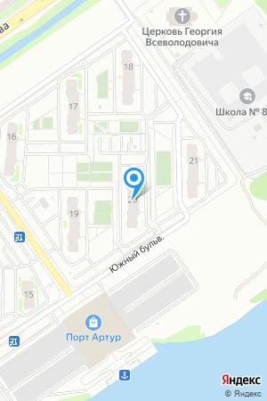 Микрорайон ЮГ, Южный бул., 20 на Яндекс.Картах