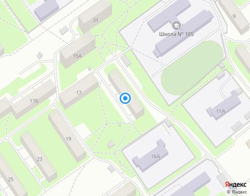 Товарищество собственников жилья «ТСЖ №15» на карте Нижнего Новгорода