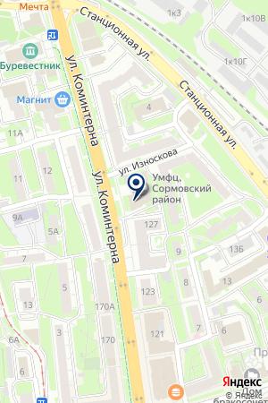 ОХРАННАЯ ФИРМА КЕДР на карте Нижнего Новгорода