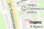Схема проезда до компании Росгосстрах, ПАО в Нижнем Новгороде