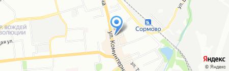 Мы-Решение на карте Нижнего Новгорода