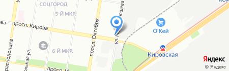 Купецъ на карте Нижнего Новгорода