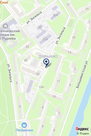 СОКОЛОВ СЕМЕН АЛЕКСАНДРОВИЧ на карте Нижнего Новгорода