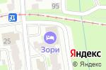 Схема проезда до компании Зори в Нижнем Новгороде