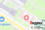 Схема проезда до компании Центр здоровья в Нижнем Новгороде