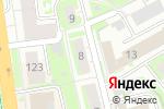 Схема проезда до компании СК КВАРТАЛ в Нижнем Новгороде