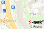 Схема проезда до компании Точка в Нижнем Новгороде