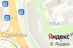 Схема проезда до компании ЦЕНТРОКЛЮЧ в Нижнем Новгороде