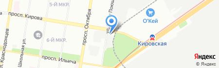 Ultra Fit на карте Нижнего Новгорода