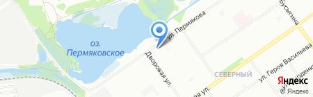 Удача на карте Нижнего Новгорода